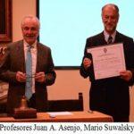 Incorporación del profesor Mario Suwalsky