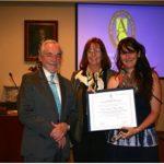 Premio de excelencia científica Adelina Gutiérrez 2015, otorgado por la academia chilena de ciencias