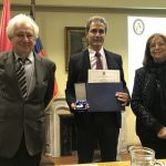 Profesor Alejandro Maass se incorpora como Miembro Correspondiente de la Academia