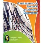 """Catálogo editado por la academia de ciencias titulado: """"contribuciones a la educación en ciencias y matemáticas"""""""