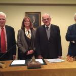 Incorporación de nuevos  miembros honorarios en la academia de ciencias