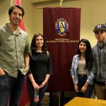 """La Academia finaliza su ciclo de conferencias """"Primavera en la Academia"""", con charla del profesor Gaspar Galaz sobre ondas gravitacionales."""
